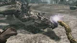 Skyrim - Bug : Un Dragon sans âme !