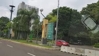 Jalan Jalan keliling Ancol pakai Mobil