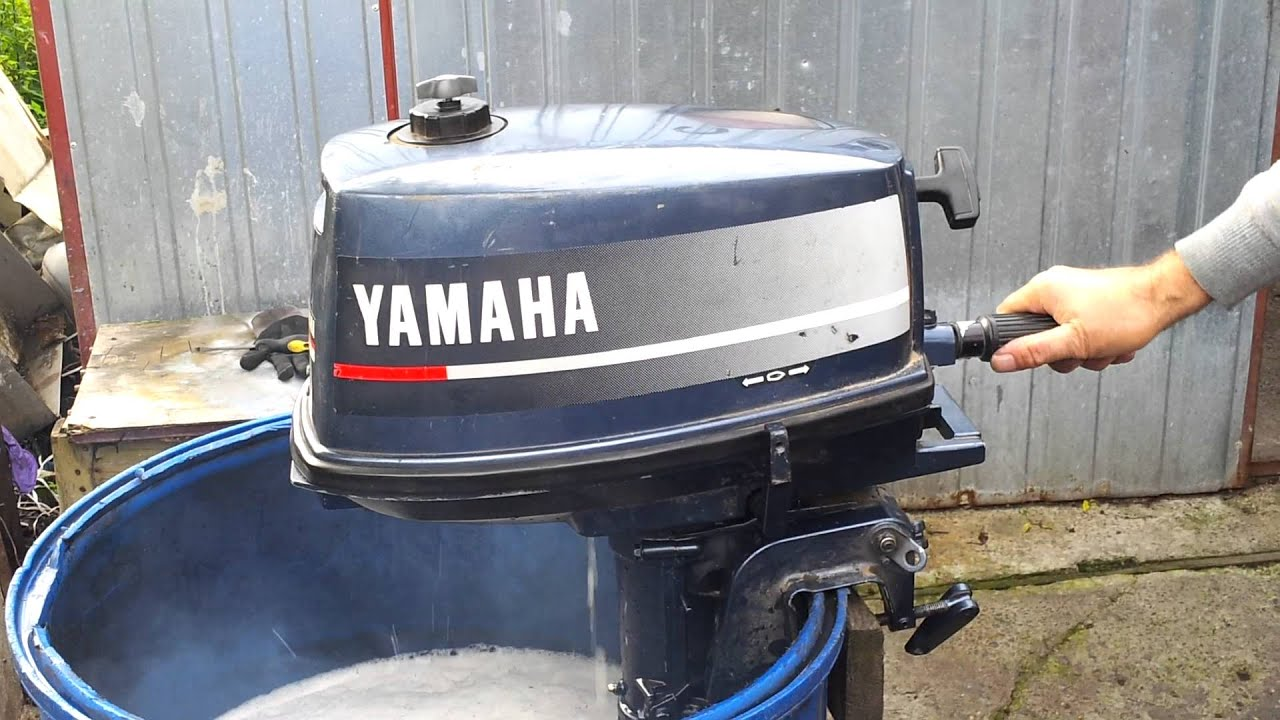 Yamaha 4 hp outboard motor 2 stroke dwusuw youtube Two stroke outboard motors