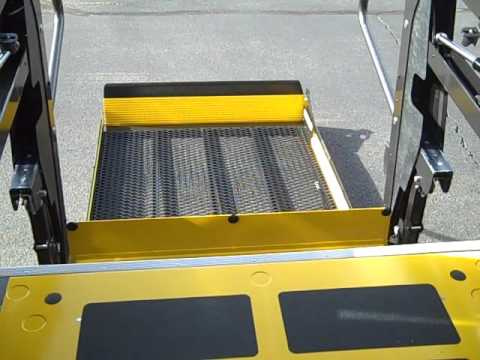 Braun Wheelchair Lift Instructional, Braun Wheelchair Lift Wiring Diagram