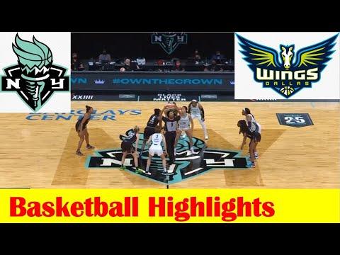 Dallas Wings vs New York Liberty Basketball Game Highlights 5 24 2021