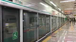 【韓国】 光州都市鉄道1号線 錦南路5街駅  광주 도시철도 1호선 금남로5가역   Gwangju Metro Line 1 Geumnamno 5-ga Station (2019.8)