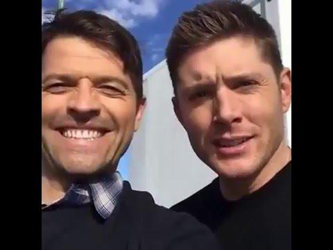 Misha Collins and Jensen Ackles #YouAreNotAlone livestream (FULL)