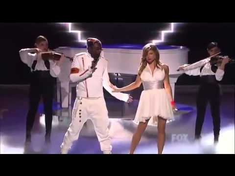 Black Eyed Peas - Just Can't Get Enough (Live) - American Idol - 2011