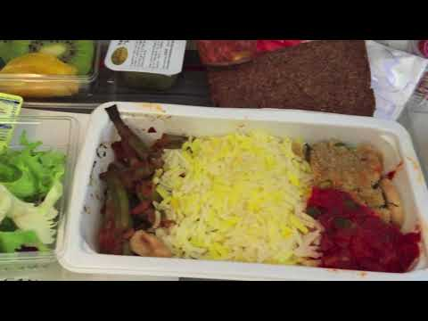 What I Ate In Air Canada Flight | Canada To India Food In Plane