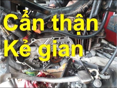 Sửa xe Cùi BắpLưu ý trò bịp chỉnh nồi xe máy của các thợ gian