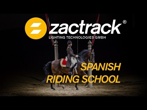 zactrack - Automated Follow Spots @Spanish Riding School Vienna