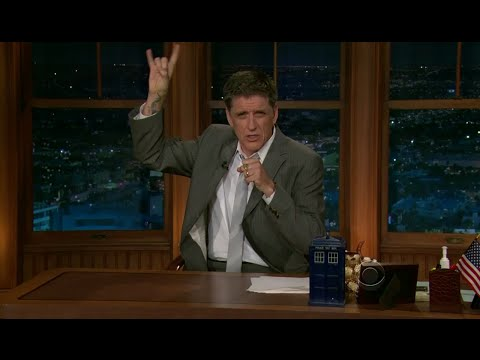 Late Late Show with Craig Ferguson 5/10/2011 Kenneth Branagh