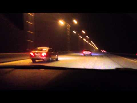 Hyundai Sonata chiptuned VS Mercedes C-klasse 230 kompressor MT VS BMW 523 M52.mp4