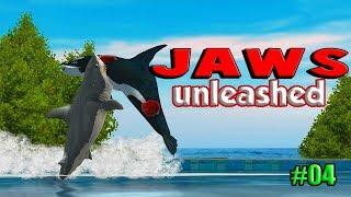 Jaws Unleashed  Tubarão Branco vs Orca Assassina