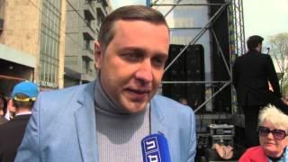 Депутат Александр Старовойтов поздравил всех с праздником Пасхи на митинге ЛДПР 1 мая