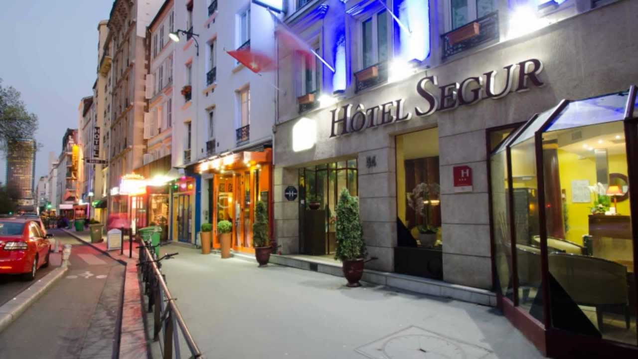 Hotel Ares Eiffel Paris