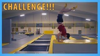 CHALLENGES AUF TRAMPOLIN? // Fun im TrampolinPark! :D | Jonah Pschl