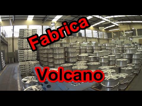 Conheça a Fabrica da VOLCANO e como são feitas as RODAS -JETY Suspensões