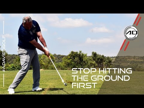 Stop Hitting The Ground Before The Ball In Golf