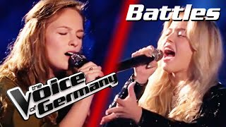 Bon Jovi - Livin' On A Prayer (Lisa-Marie vs. Paula ) | The Voice of Germany 2020 | Battles