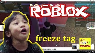 ROBLOX FREEZE TAG - by Phoebe and Rawson - Review Toys Review
