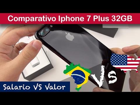 Comparativo Iphone 7 Plus - Brasil Vs USA