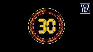 Conto alla rovescia 30 secondi - 30 seconds countdown timer