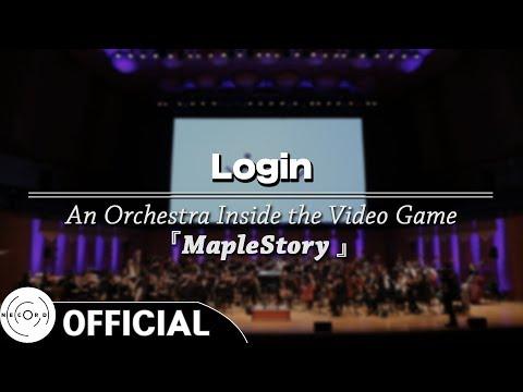 Login | 「게임 속의 오케스트라 - 메이플스토리 (MapleStory)」 공연 실황