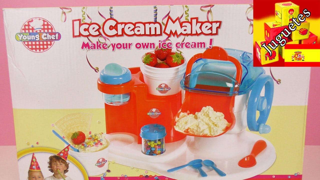 De Verdad Ice Cream MakerHelados Unboxing jMqSpUGLzV