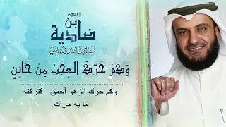 مشاري راشد العفاسي - ضادية ابن زيدون