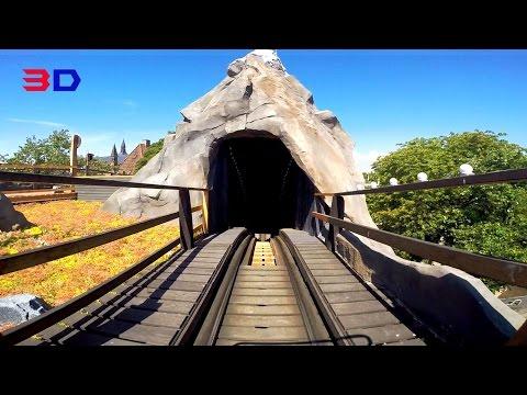 Rutschebanen 3D front seat on-ride HD POV Tivoli Gardens