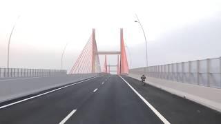 Cầu Bạch Đằng, Cao tốc Hải Phòng - Hạ Long, Quảng Ninh tháng 09.2018
