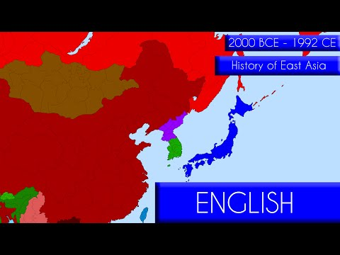 History of East Asia - 4000 years