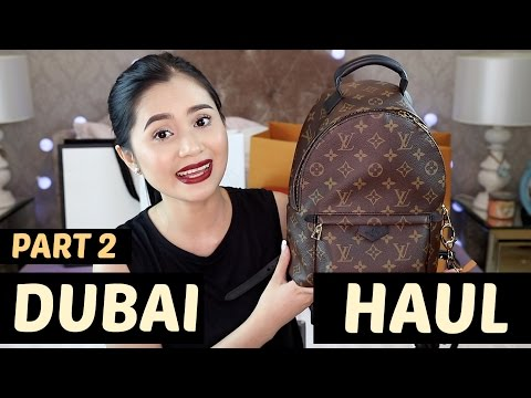 DUBAI Haul (Part2: Designer Goods) | Anna Cay ♥