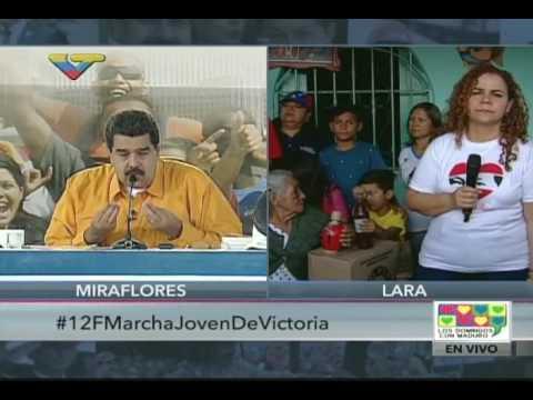 Maduro: ¡Los CLAP no son una caja ni una bolsa, carajo! ¡Son pueblo vivo!