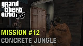 Grand Theft Auto IV - Mission #12 - Concrete Jungle | 1440p 60fps