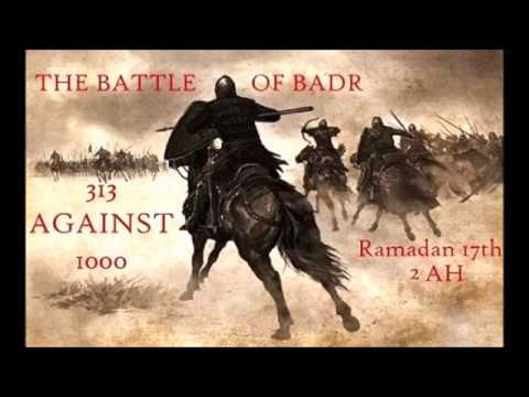 islam battle of badr The account of the happenings during this heroic clash of madinans (believers) with the makkans (non believers) is described below: preparation for the decisive encounter.