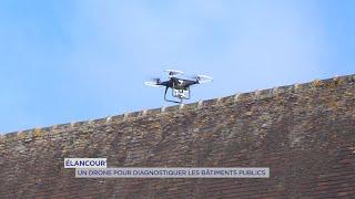 Yvelines | Élancourt : Un drone pour diagnostiquer les bâtiments publics