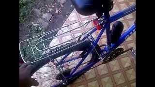 Cycling to work Trinidad and Tobago (MTB)