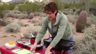 Camping For Foodies Kim Hanna Makes French Toast With A Cranberry Orange Pecan Syrup Recipe