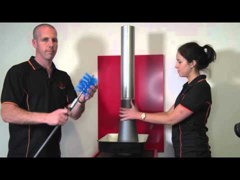 How to clean the flue of a Pyroclassic Fire