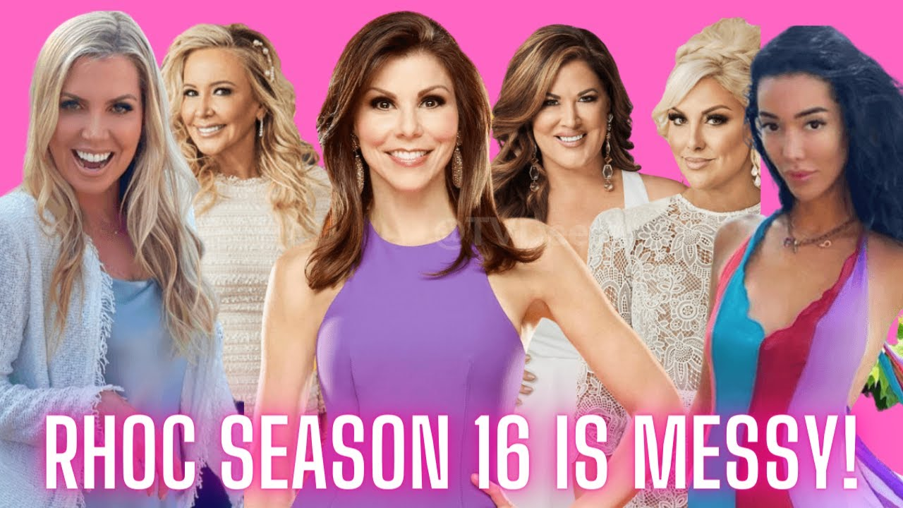Download Source Says RHOC Season 16 Is Messy!  New Details On Who Made The Full Time Cut and Who Didn't!