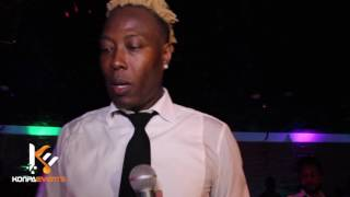 Gazzman Disip  & Dener Ceide -  J'ai brule les etapes Live Performance  [ May 28/16 ]