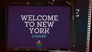 Taylor Swift- Welcome to New York Lyrics (Maybe a cover)