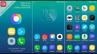 VIBE UI Custome Rom Lenovo  Launcher For Android