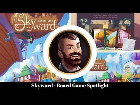Skyward - Airborne City - Board Game Spotlight