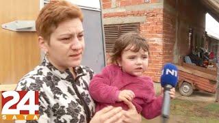 Djevojčica Jana iz razrušenog sela kraj Petrinje: 'Mama, nemoj plakati!'