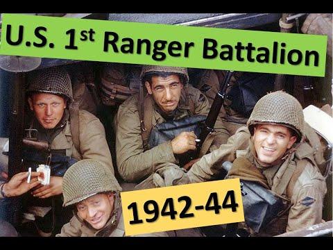 U.S. 1st Ranger Battalion (1942-1944)