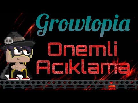 Growtopia Önemli Açıklama!