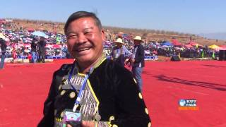 HMONGWORLD: NOM PHAJ in China, Exclusive Interview During Hmong Int'l Fest. in Dej Liab, China