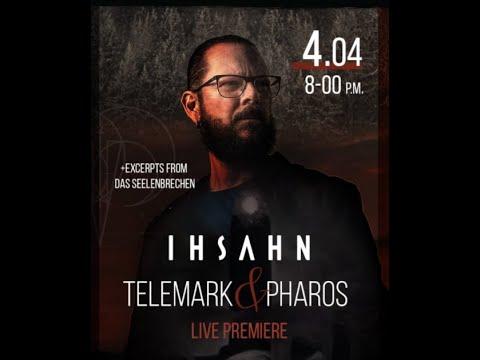 Ihsahn to perform special livestream EPs Telemark and Pharos in full ..!