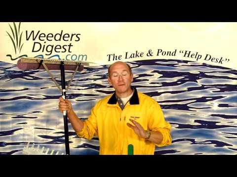 Long Reach Lake Aquatic Weed Rake