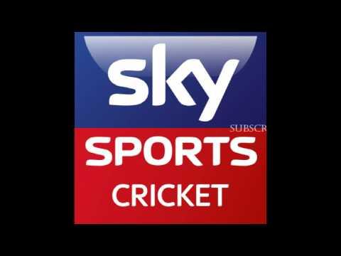 Sky Sports ( England)  Cricket Scorecard Music 2015, 2016 & 2017