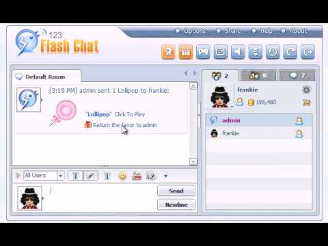 Sending Virtual Gifts In Chat Rooms